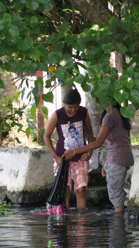 daily chores - washing
