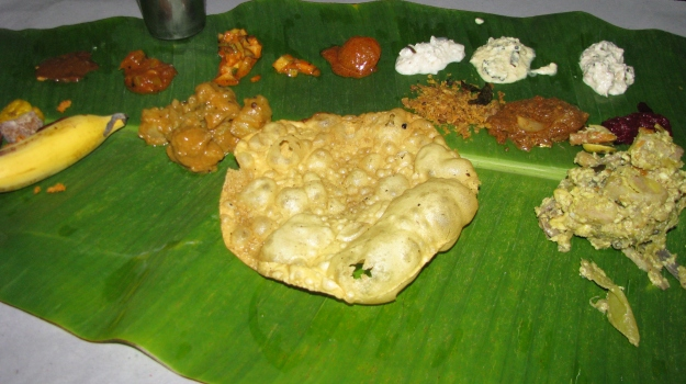 banana leaf feast