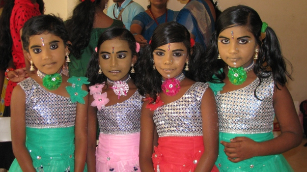 Indian masked girls
