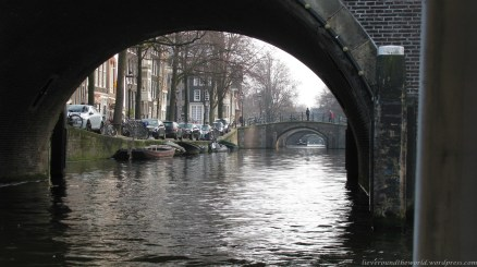amsterdam through the bridges