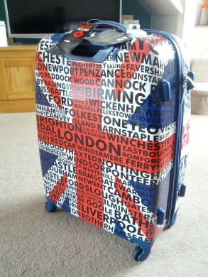 I am British and I am proud of it...  A suitcase I can spot from a mile.