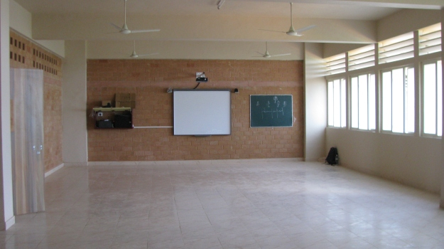 Classroom in at the beginning of June