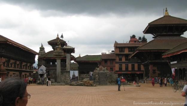 Durbar Square in Bakhtapur