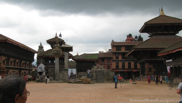 Durbar Square in Bakhtapur