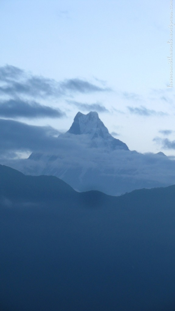 The Fish Tail, a sacred peak in the Hindu religion, the one mountain that no one has ever climbed... or so they think..