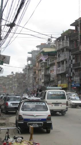 traffic kathmandu 2