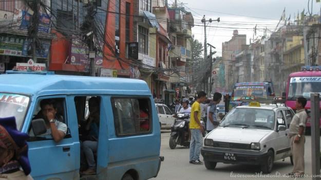 traffic kathmandu 3