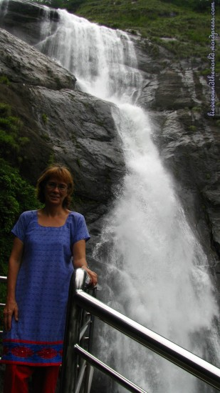 thenmala waterfall 3
