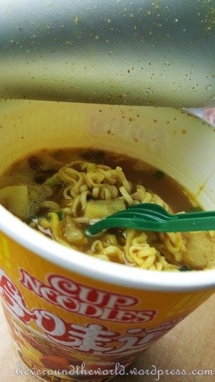 Pot noodle delight...