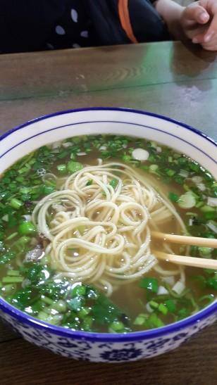 Fresh noodle delight...